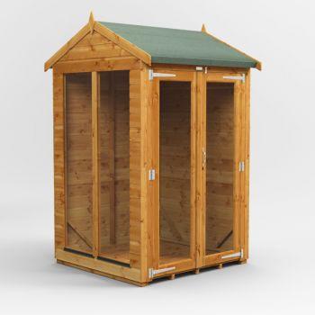 Oren 4' x 4' Shiplap Apex Mini Summer House