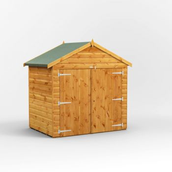 Oren 4' x 6' Shiplap Apex Bike Shed