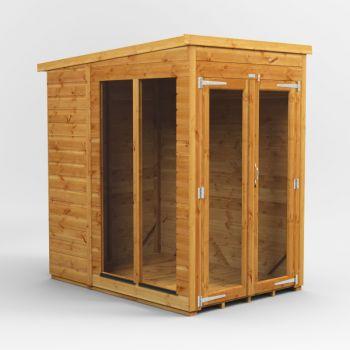 Oren 4' x 6' Shiplap Pent Mini Summer House