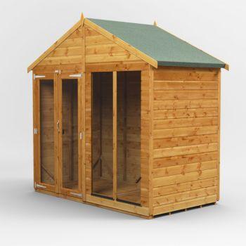 Oren 4' x 8' Shiplap Alcester Summer House