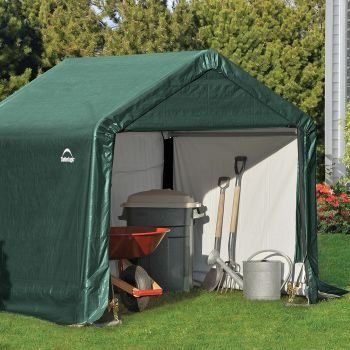 Shelter Logic 6' x 6' Peak Style Portable Storage Shed