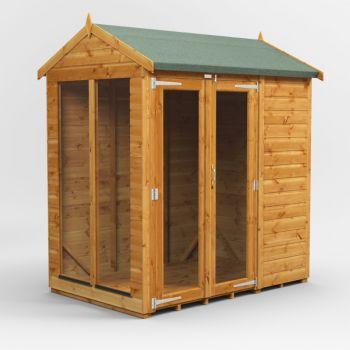 Oren 6' x 4' Shiplap Apex Mini Summer House