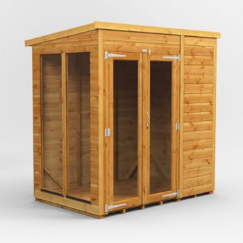 Oren 6' x 4' Shiplap Pent Mini Summer House