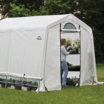 Shelter Logic 8' x 8' Peak Style Portable Greenhouse