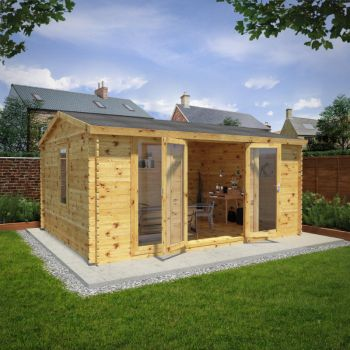 Adley 5m x 4m Home Office Executive Log Cabin