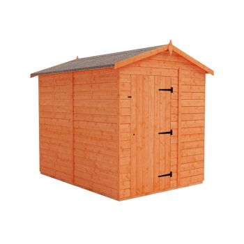 Redlands 6' x 8' Windowless Shiplap Modular Apex Shed