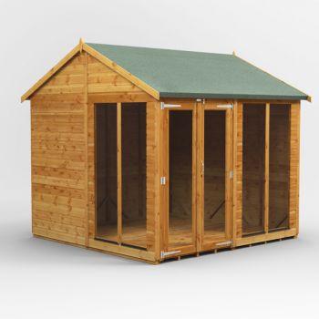 Oren 8' x 8' Shiplap Henley Summer House
