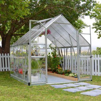 Palram 8' x 8' Balance Silver Greenhouse
