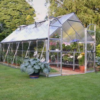 Palram 8' x 16' Balance Silver Greenhouse