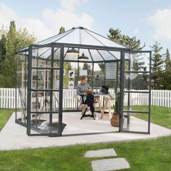 Palram 12' Oasis Hexagonal Polycarbonate Greenhouse