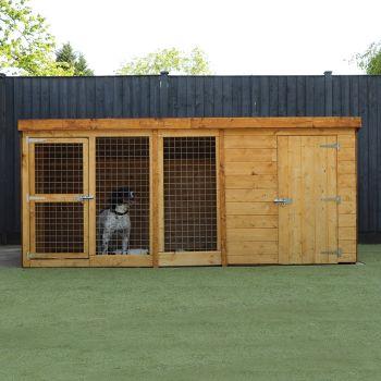 Adley 10 x 4 Dog Kennel & Run