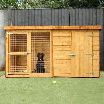 Adley 8 x 4 Dog Kennel & Run