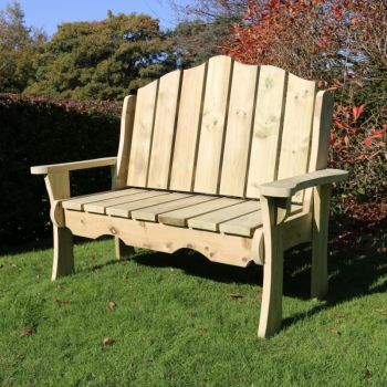 Moorvalley Manor 2 Seater Bench