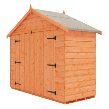 Redlands 7' x 3' Shiplap Apex Bike Shed