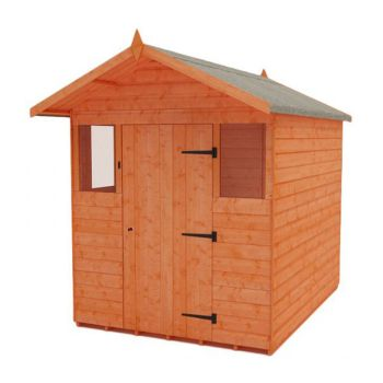 Redlands 6' x 8' Apex Summer Shed