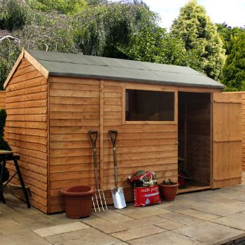 Adley 10' x 6' Overlap Reverse Apex Shed