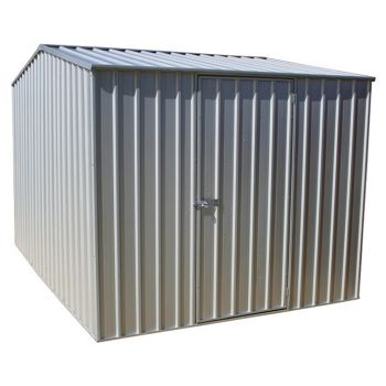 Adley 10' x 7' Titanium Apex Metal Shed