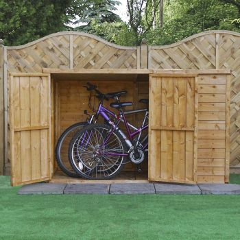 Adley 6' x 3' Overlap Pent Bike Shed