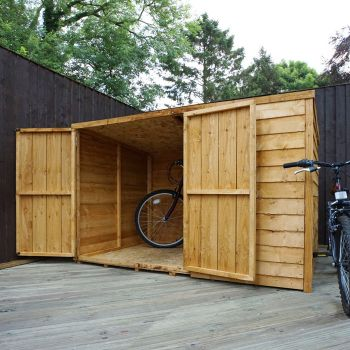 Adley 6' x 4' Overlap Pent Bike Shed