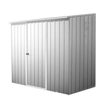 Adley 7' x 5' Titanium Pent Metal Shed