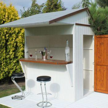 Loxley 6' x 4' Apex Garden Bar