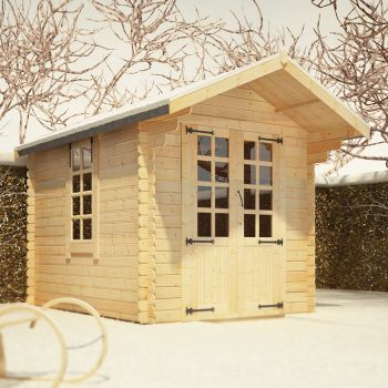 Redlands 2.4m x 3m Eren Log Cabin