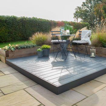 Hartwood Composite Deck Kit - Welsh Slate Grey