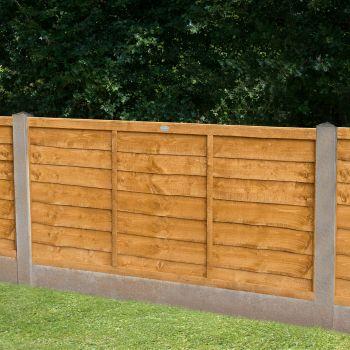 Hartwood 4' x 6' Lap Fence Panel