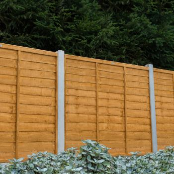 Hartwood 5' x 6' Lap Fence Panel