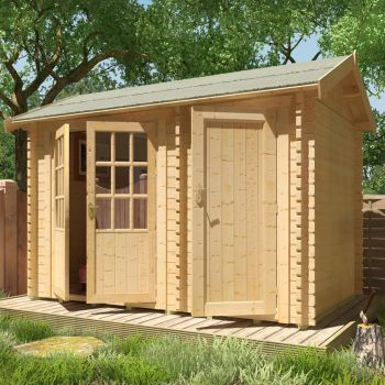 Redlands 3.6m x 2.4m Carnoustie Log Cabin