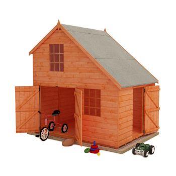 Redlands 8' x 6' Groovy Garage Playhouse