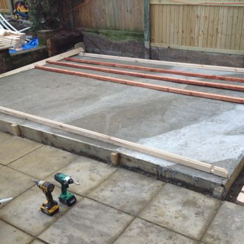 Concrete Base Preparation Service