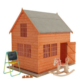 Redlands 8' x 6' Crazy Cottage Playhouse