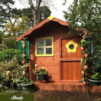Adley 5' x 5' Jellytot Candy Playhouse