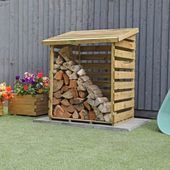 Adley Pressure Treated Small Log Store