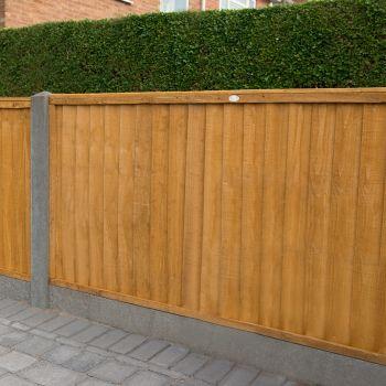 Hartwood 4' x 6' Closeboard Fence Panel