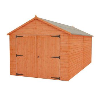 Redlands 10' x 16' Shiplap Apex Wooden Garage