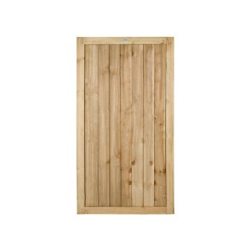 Hartwood 6' x 3' Pressure Treated Feather Edge Gate