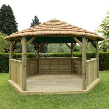 Roof lining included and available in green, cream or terracotta.