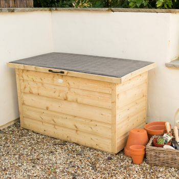Hartwood Pressure Treated Shiplap Garden Storage Box
