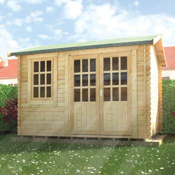 Redlands 3.6m x 3m Hazeltine Log Cabin