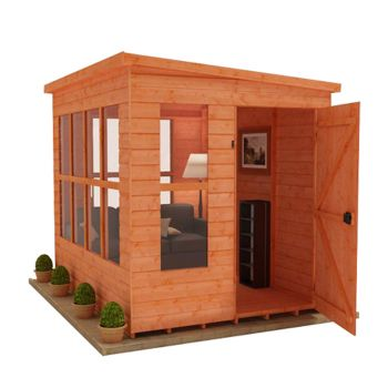 Redlands 6' x 6' Home Office Summer House