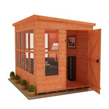 Redlands 6' x 8' Home Office Summer House