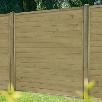 Hartwood 5' x 6' Horizontal Pressure Treated Tongue & Groove Fence Panel