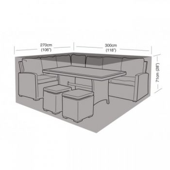 Cover Up - Large Casual Dining Set Cover - 300cm