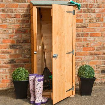 Loxley 2' x 2' Shiplap Garden Store