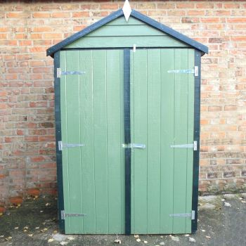 Loxley 4' x 3' Overlap Double Door Apex Store
