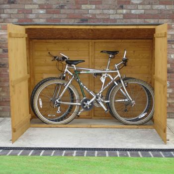 Loxley 6' x 2' Shiplap Pent Bike Shed