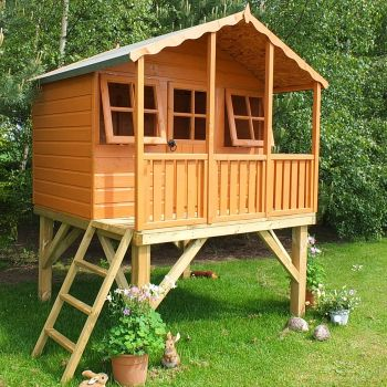 Loxley 6' x 4' Caramel Tower Playhouse