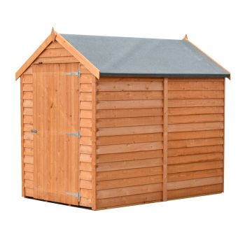 Loxley 4' x 6' Windowless Overlap Apex Shed